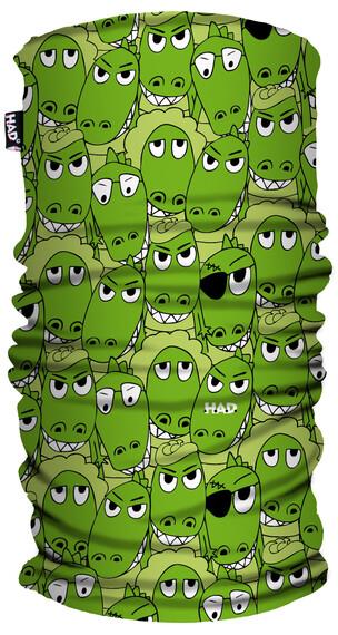 HAD Printed Fleece  Halsbedekking Kinderen groen